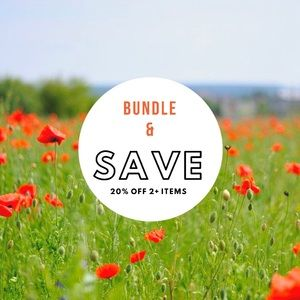 Save 20% on Bundled Items!